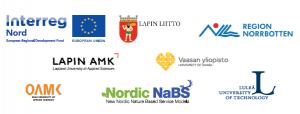 Projektin yhteistyökumppaneiden logot.